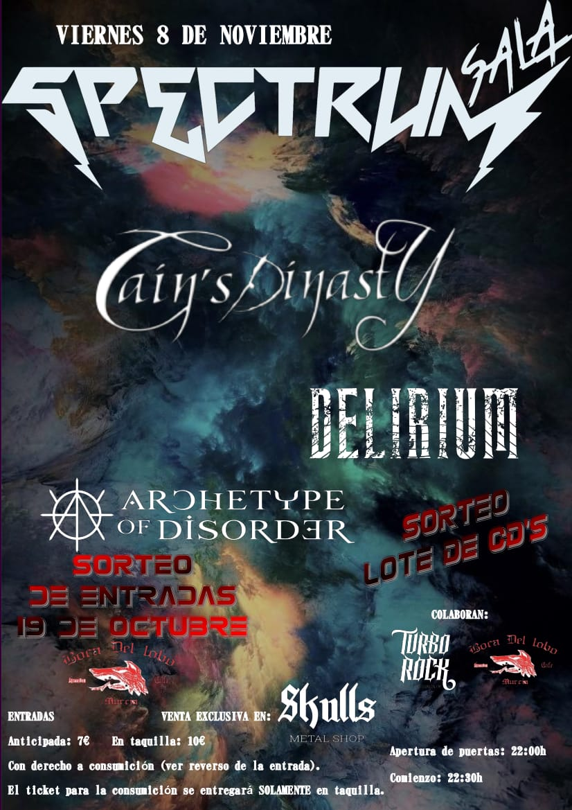 Cain's Dinasty Murcia 8 Noviembre